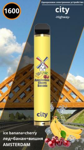 City highway 1600 Amsterdam Ice Banana Cherry