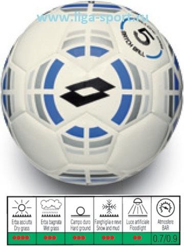 Мяч футбольный Lotto Twister FB500