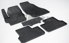 """Резиновые коврики """"Сетка"""" для Mazda 3 (2009-2013)"""