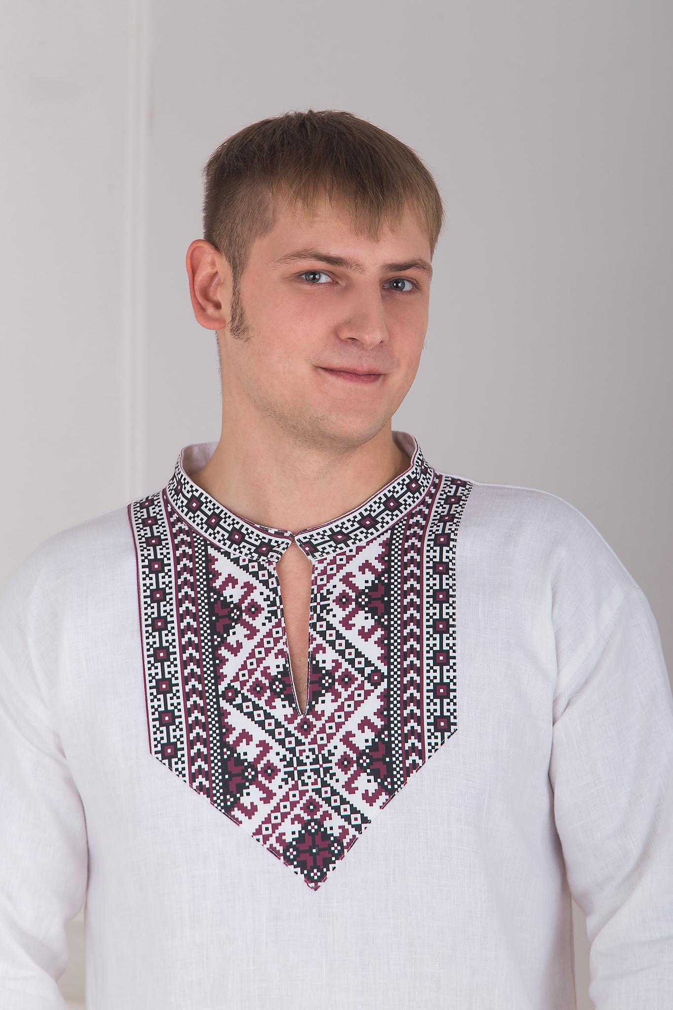 Славянская боевая рубаха кокетка