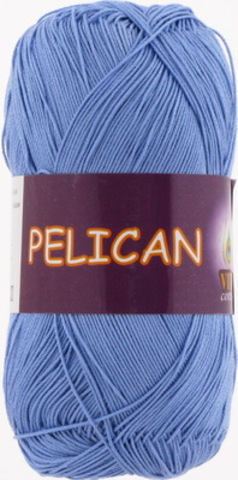 Пряжа Pelican (Vita cotton) 3975 Лазурь