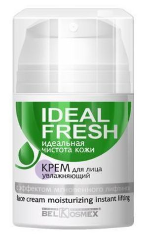 BelKosmex IDEAL FRESH Крем для лица увлажняюший с эффектом мгновенного лифтинга 50г