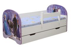 Кровать детская с фотопечатью Холодное сердце