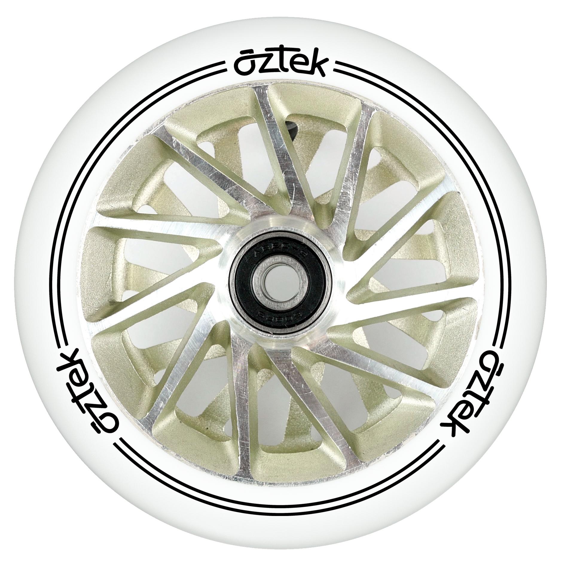 Пара колёс для самоката AZTEK Ermine (Ivory)
