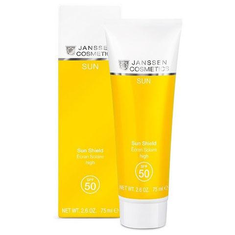 Janssen Sun: Эмульсия для лица и тела с максимальной защитой SPF50 (Sun Shield SPF50)