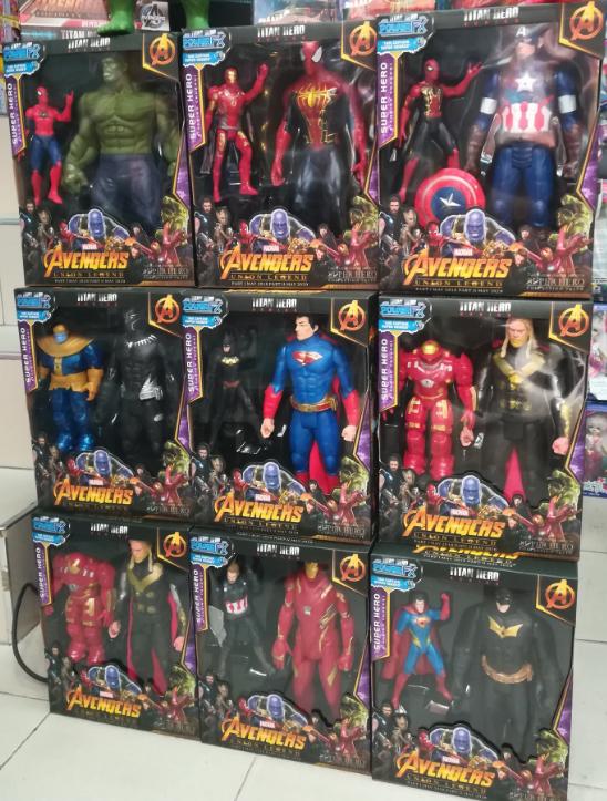 Набор из 9 супергероев