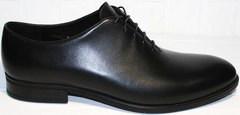 Элитные мужские туфли Ikos 006-1 Black