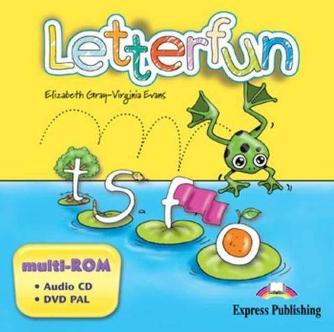 Letterfun. multi-ROM (Audio CD / DVD Video PAL). Аудио CD/ DVD видео