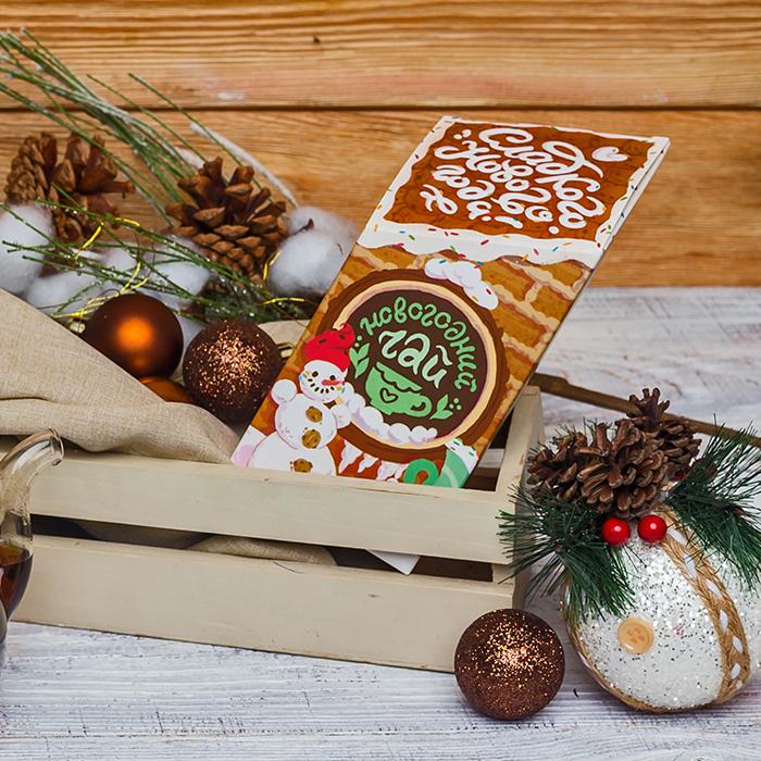 Купить подарочный сладкий зеленый чай на Новый год в Перми