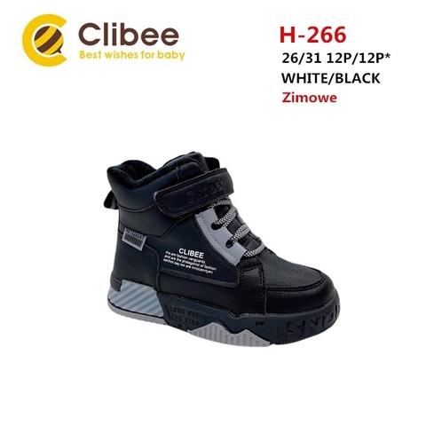 Clibee (зима) H266 White/Black 26-31
