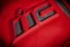 Мотокуртка - ICON SANCTUARY (кожа, красная)
