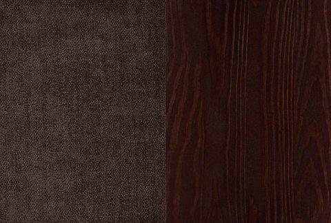 Ткань/Массив: Лофти Кофейный/Венге матовый