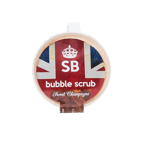 Скраб-пена SB BUBBLE-SCRUB Sweet Champagne (шампанское)