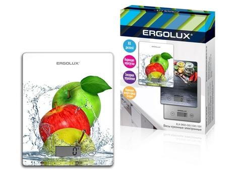Весы кухонные Ergolux ELX-SK02-С01 белый