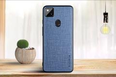 Тканевый чехол Aioria для Google Pixel 4a 5G (Синий)