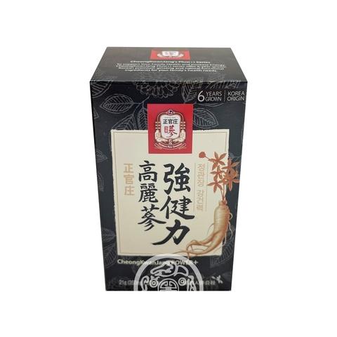 Биологически активная добавка к пище Пауэр плюс с женьшенем для мужчин 60таб Ginseng Корея