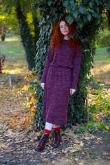 Mix Mode 6090 платье шерсть