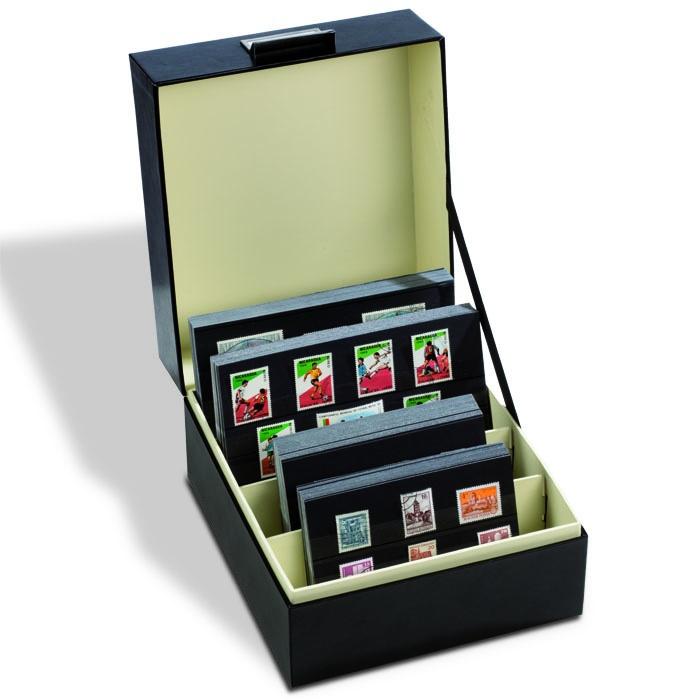 Archive box LOGIK A5, inner size 200 x 168 mm, black