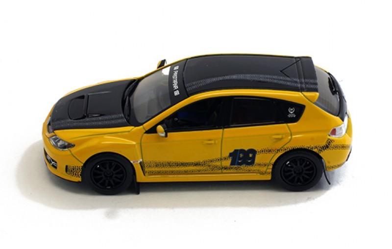 Коллекционная модель Subaru Impreza WRX STI T.Pastana 220 Edition 2009