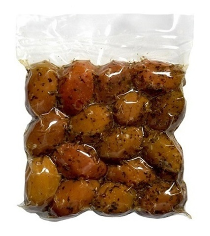 Оливки Дамаскино с орегано Attica Food 500 гр