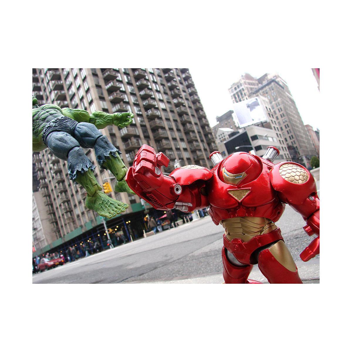 Железный человек (Iron Man Hulkbuster) Marvel Select