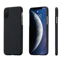 Чехол Pitaka MagCase (арамид) для Apple iPhone Xs (Black/Grey Plain)