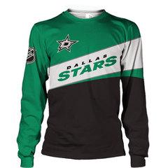 Толстовка 3D принт, НХЛ Даллас Старз (3Д Свитшот NHL Dallas Stars) 02