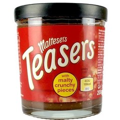Шоколадная паста Maltesers Teasers с хрустящими шариками 200 гр