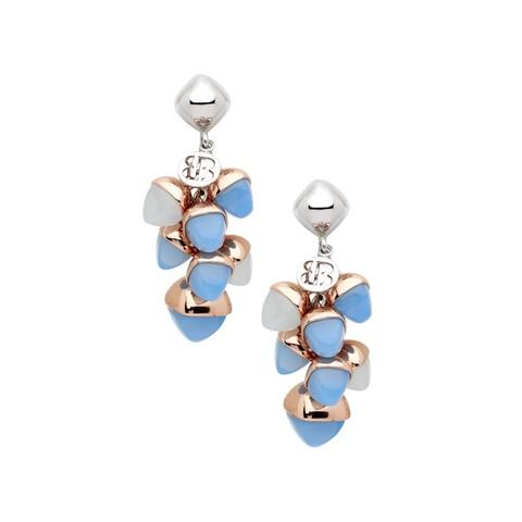 Серьги Caleida Blue XOR533C BL/RG