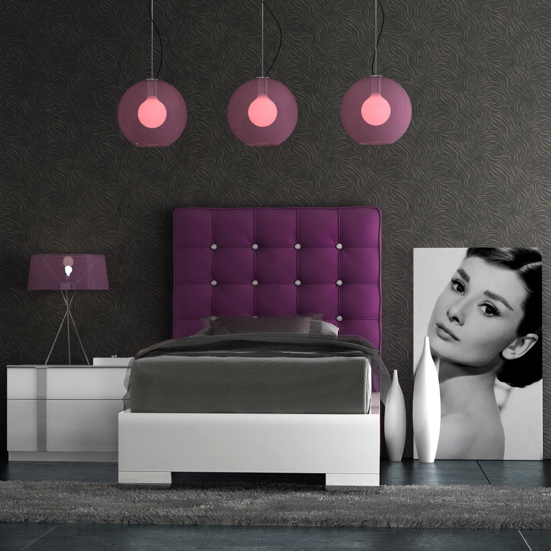 Кровать Fenicia Mobiliario SINGLE TAPI