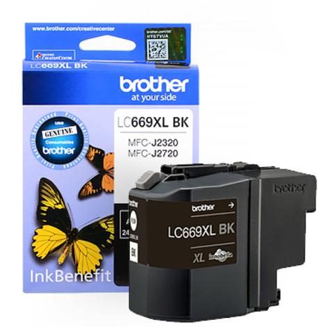 Картридж Brother LC669XLBK