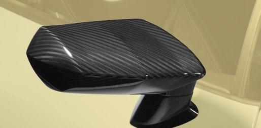 Карбоновый корпус зеркала Mansory Style для Lamborghini Huracan