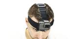 Крепление на голову + клипса на одежду GoPro Headstrap + QuickClip (ACHOM-001) на голове вид спереди