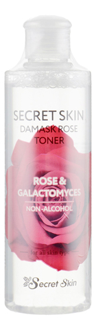 Тонер для лица с экстрактом розы Secret Skin Damask Rose Toner, 250мл