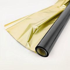 Полисилк Металл, Черный/Золото, 100 см* 20 м.