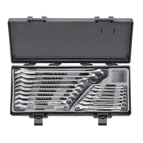 Набор комбинированных ключей FORCE 16 предметов 6-24 мм в кейсе 5161