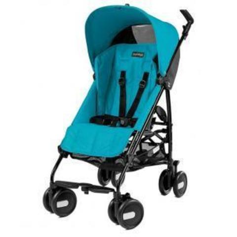 PEG PEREGO Коляска PLIKO MINI Lightweight stroller with hood BLOOM SCUBA – купить в Казахстане