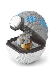 Конструктор Wisehawk & LNO покемон бол Кубон 413 деталей NO. 2539 Cubone Pokemon ball Gift Series