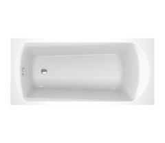 Ванна прямоугольная 170х75 с панелью, каркасом, сливом-переливом Ravak SET Domino PLUS 70508015 фото