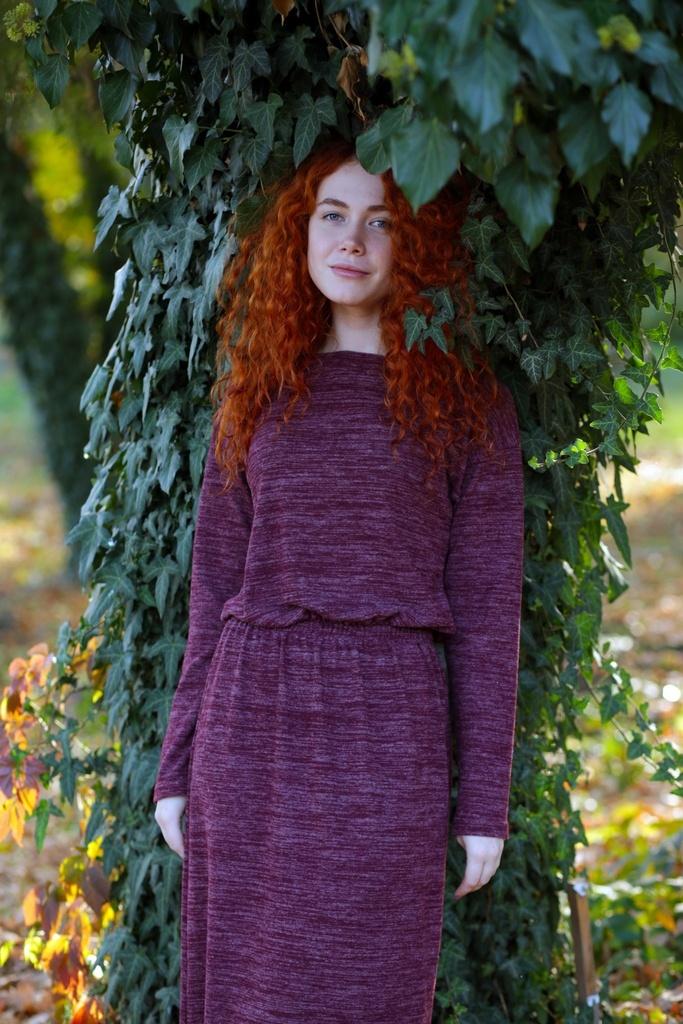 Mix Mode 6090 платье шерсть/акрил