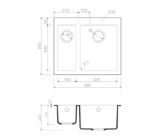 Схема Omoikiri Bosen 59-2-WH