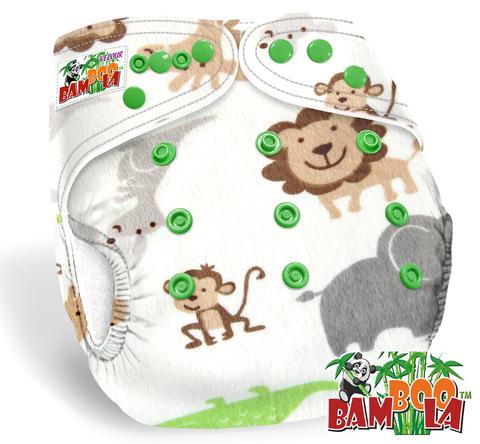 Подгузник Bamboola Premium Velour + 1 вкладыш  в ассортименте