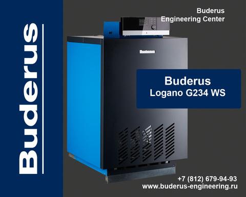 Buderus Logano G234-44WS Газовый Напольный Чугунный Атмосферный котел (RU-TOP)
