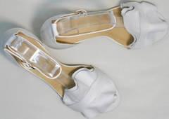 Открытые женские босоножки из натуральной кожи Ari Andano K-0100 White.