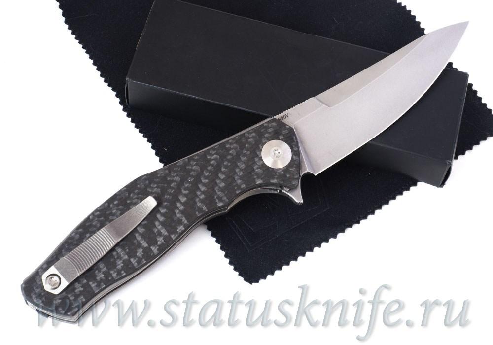 Нож Широгоров TETRA S90V SIDIS дизайн - фотография