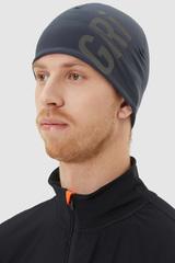 Элитная спортивная шапка Gri Темп темно-синяя