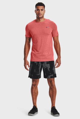 Мужская коралловая футболка UA Rush Seamless Under Armour