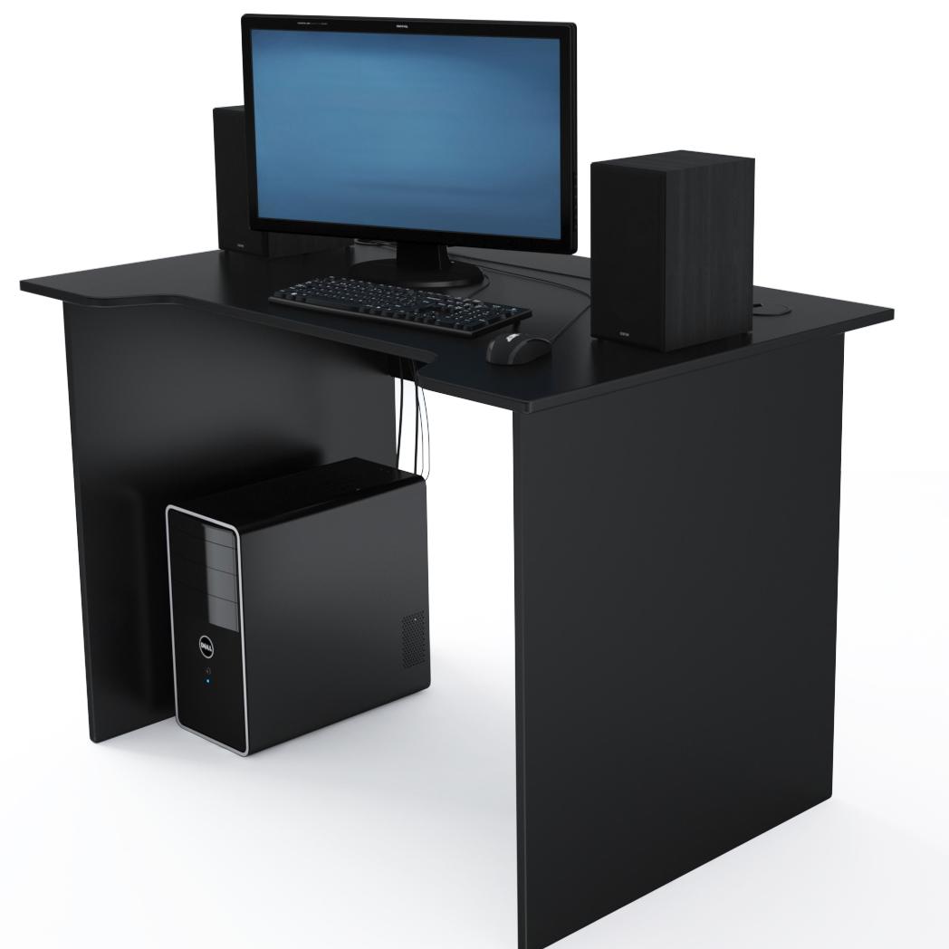 Стол Компьютерный Jedi 1100 Черный