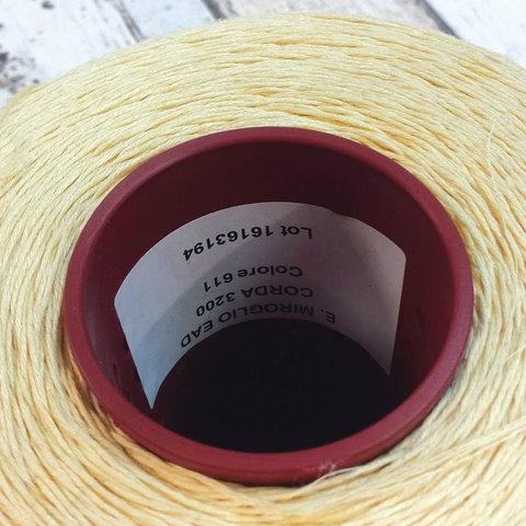 Лен 100% NIROGLIO / CORDA 320 золотисто-желтый