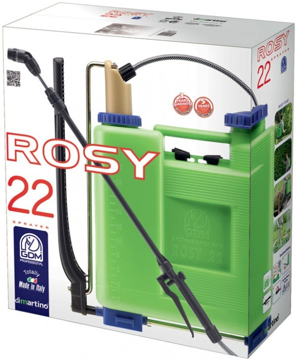 Ранцевый опрыскиватель ROSY 22 от DiMartino GDM Professional